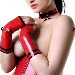 Latex CUTIE MINI MITTS